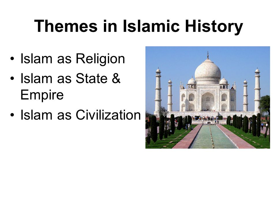 Themes in Islamic History