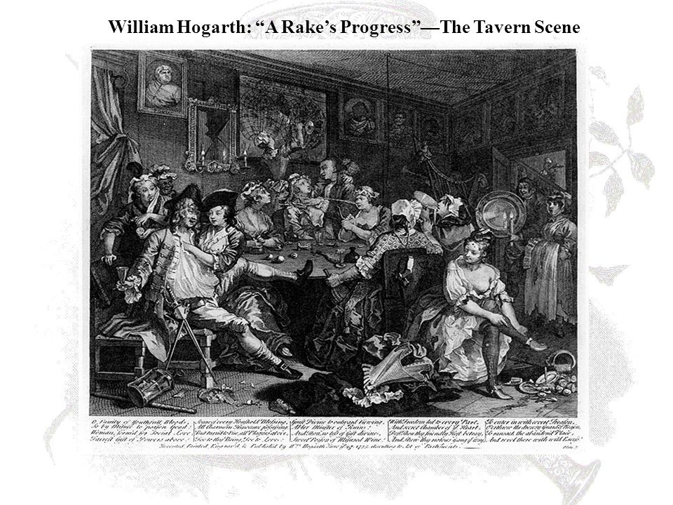 William Hogarth: A Rake's Progress —The Tavern Scene