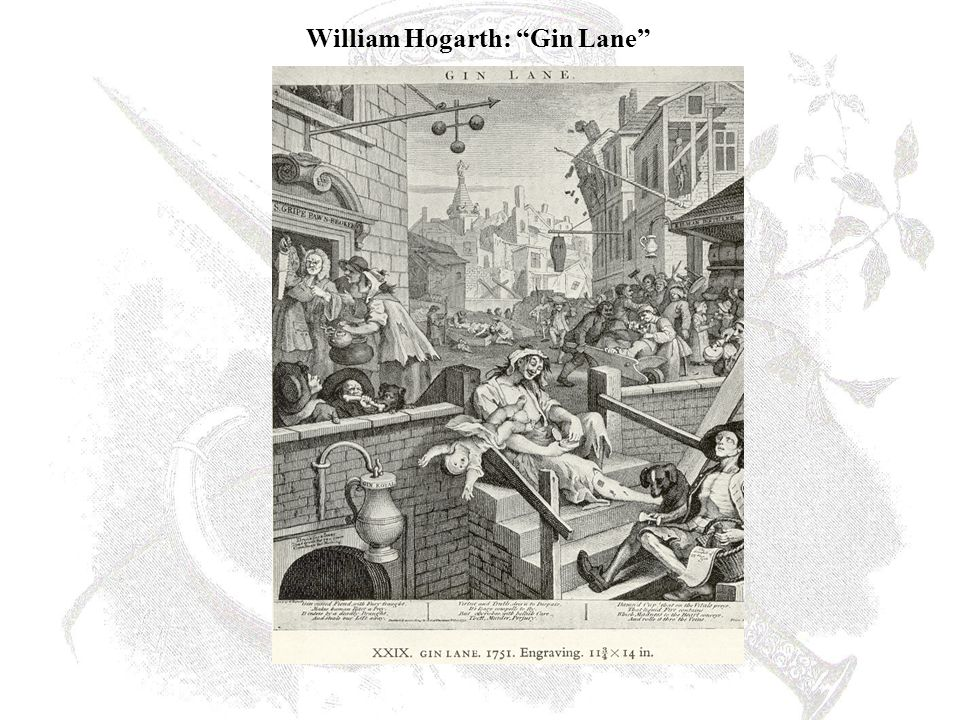William Hogarth: Gin Lane