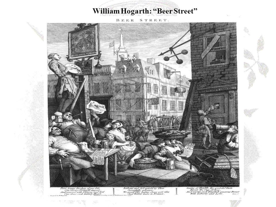 William Hogarth: Beer Street