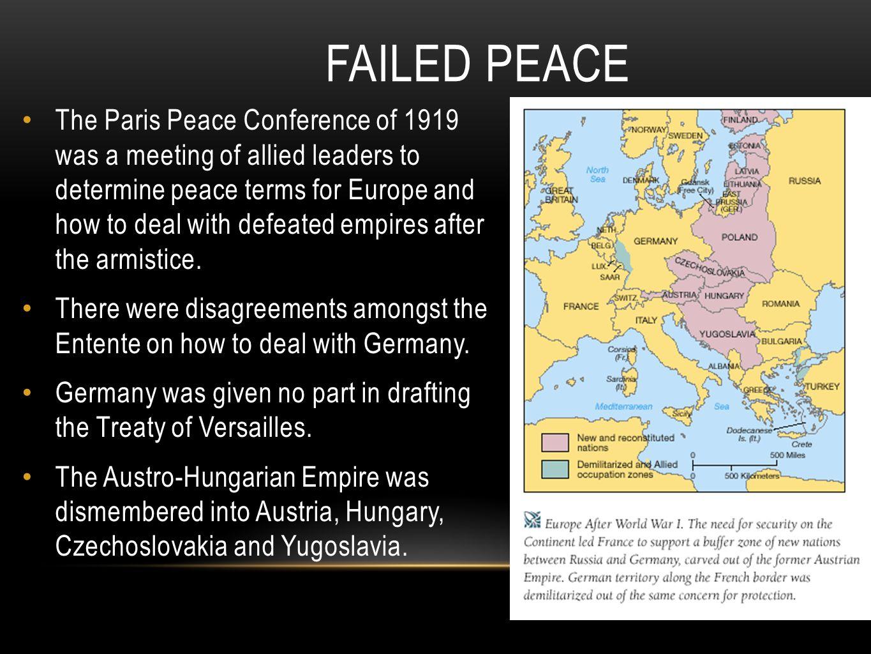 Failed Peace