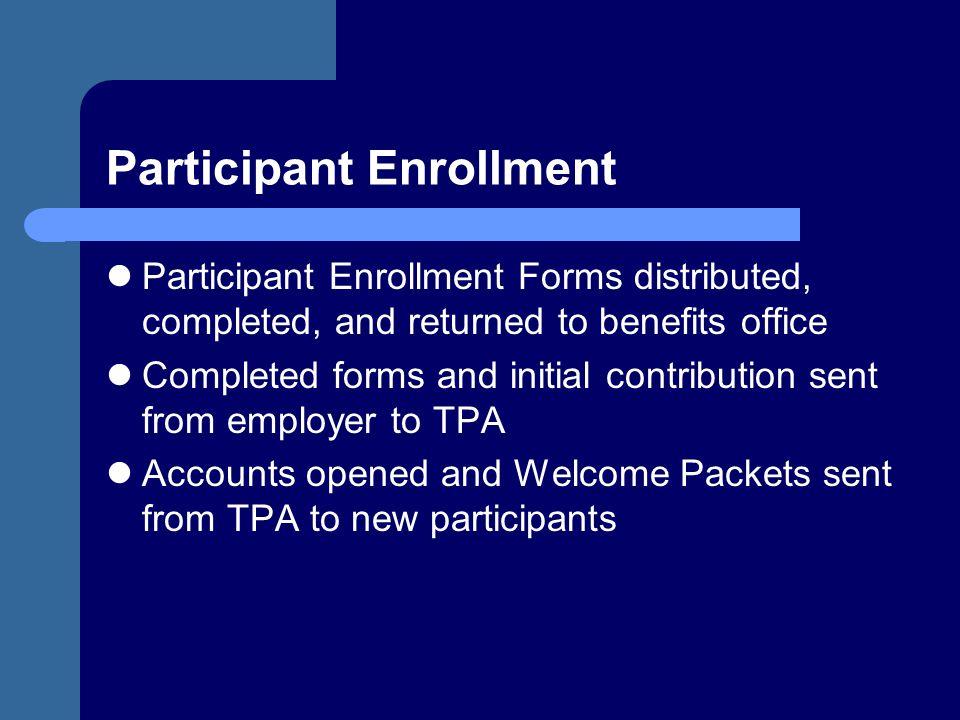 Participant Enrollment