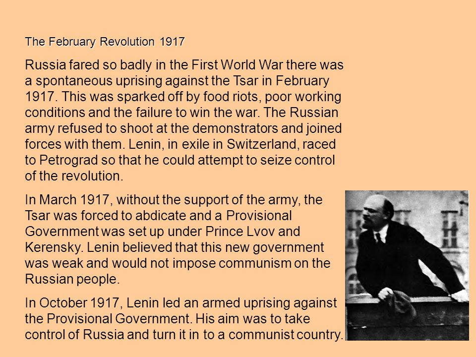 The February Revolution 1917