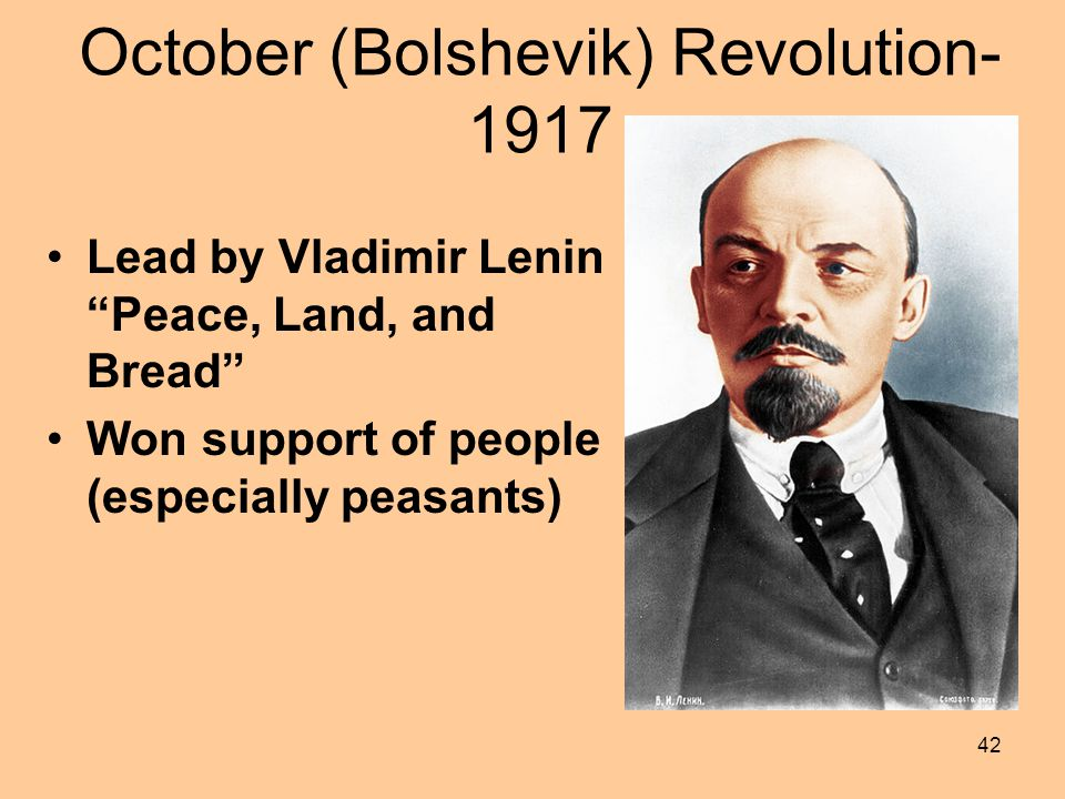 October (Bolshevik) Revolution-1917