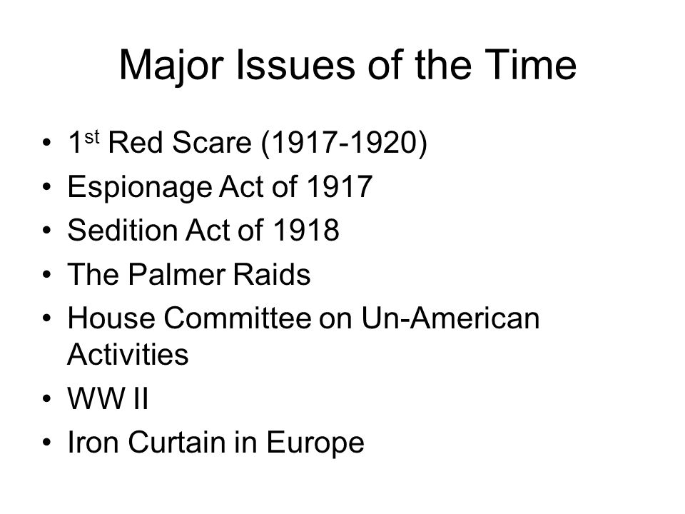 us sedition act 1918 The sedition act of 1918 was an amendment to the espionage act of 1917 passed by congress at the urging of president woodrow wilson, who was concerned that any.