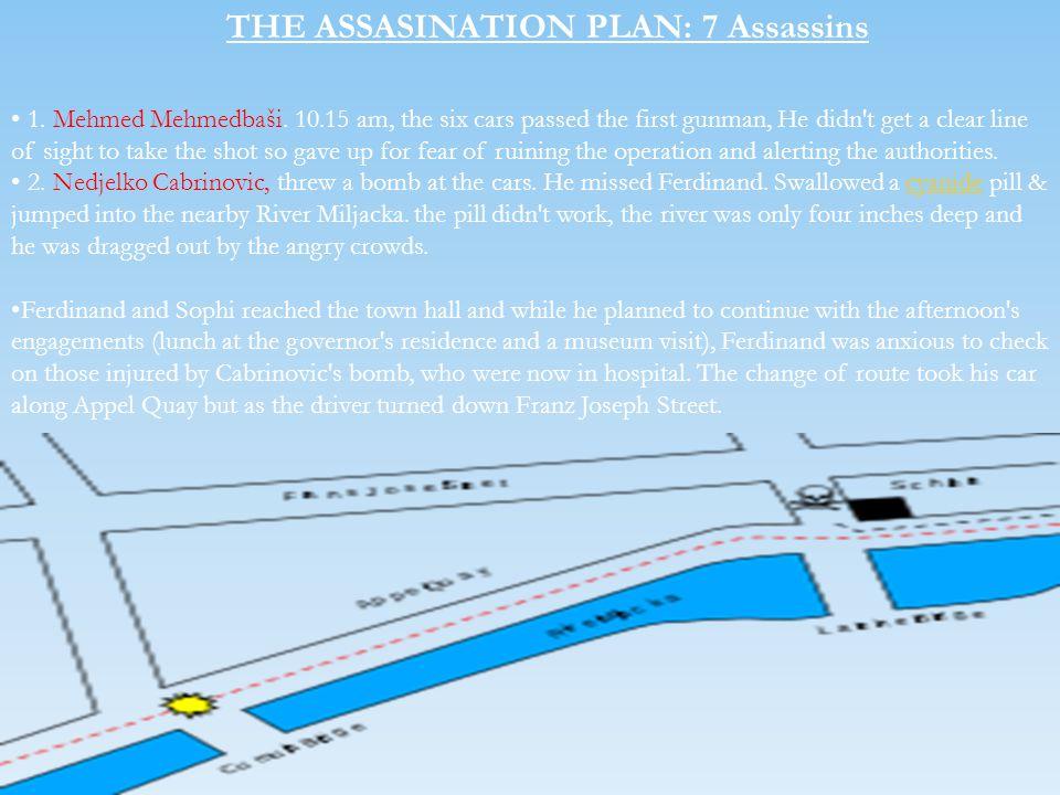 THE ASSASINATION PLAN: 7 Assassins
