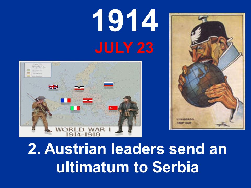 an analysis of the astro hungarian ultimatum to serbia Primary documents - austrian ultimatum to serbia, 23 july 1914 the austro-hungarian government waited three weeks following the assassination of archduke franz ferdinand - heir to the austro-hungarian throne currently held by franz josef - before issuing its formal response.