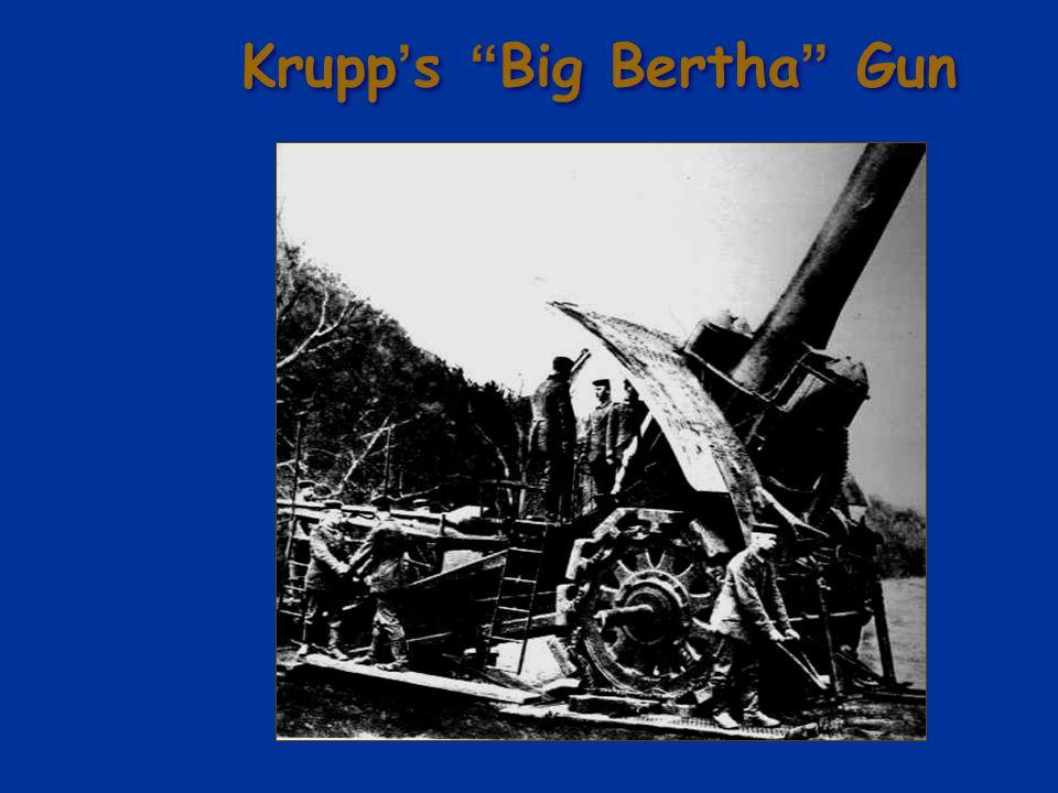 Krupp's Big Bertha Gun