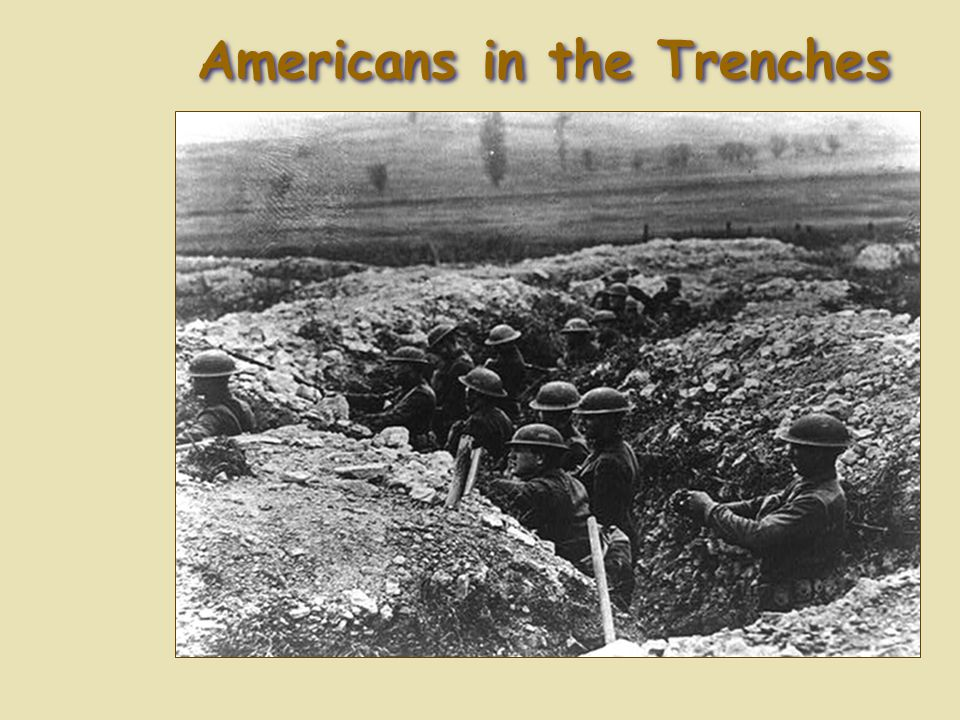 Americans in the Trenches