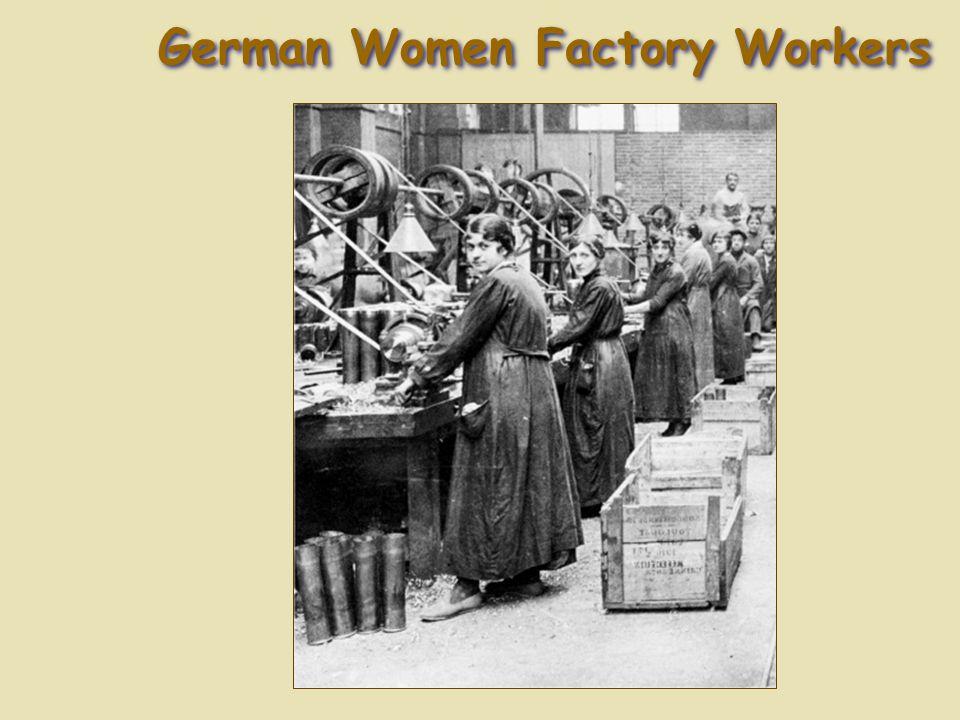 German Women Factory Workers