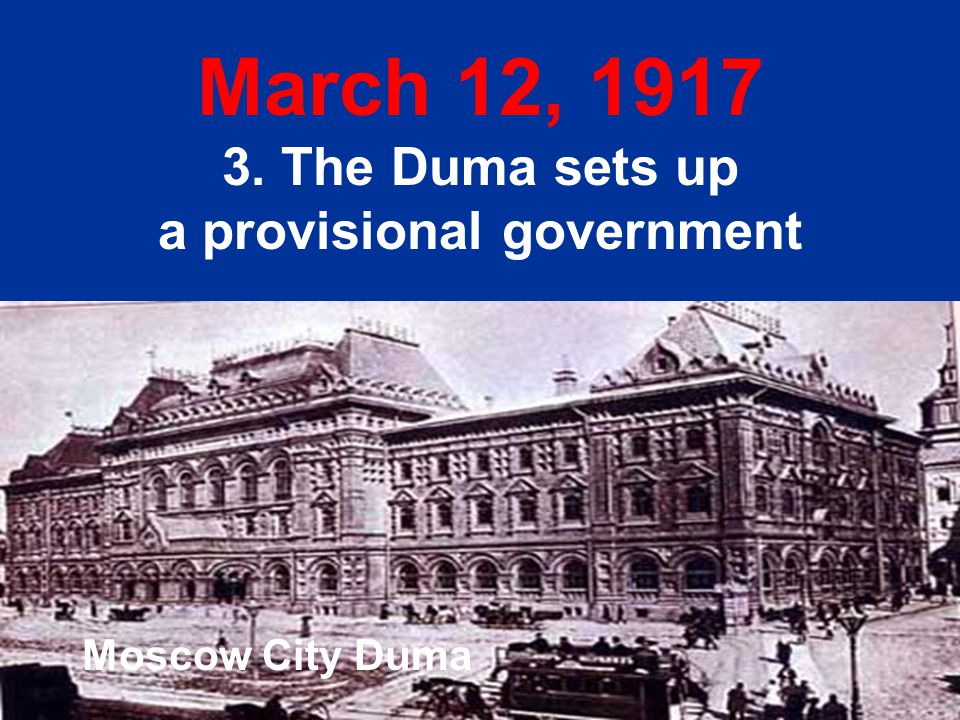 a provisional government