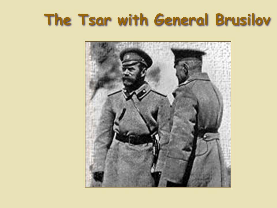 The Tsar with General Brusilov