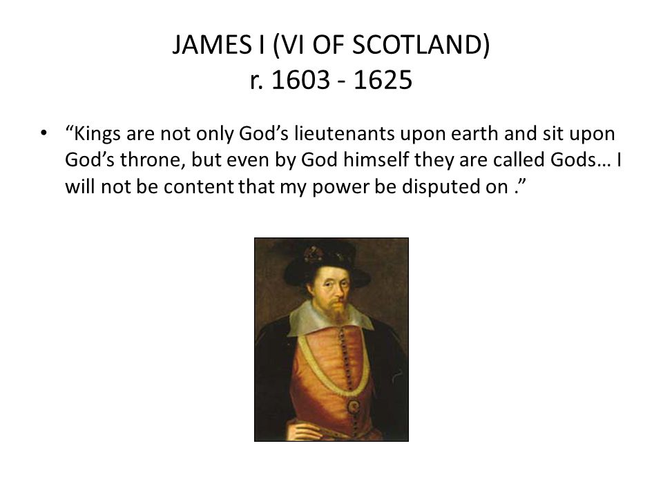 JAMES I (VI OF SCOTLAND) r. 1603 - 1625