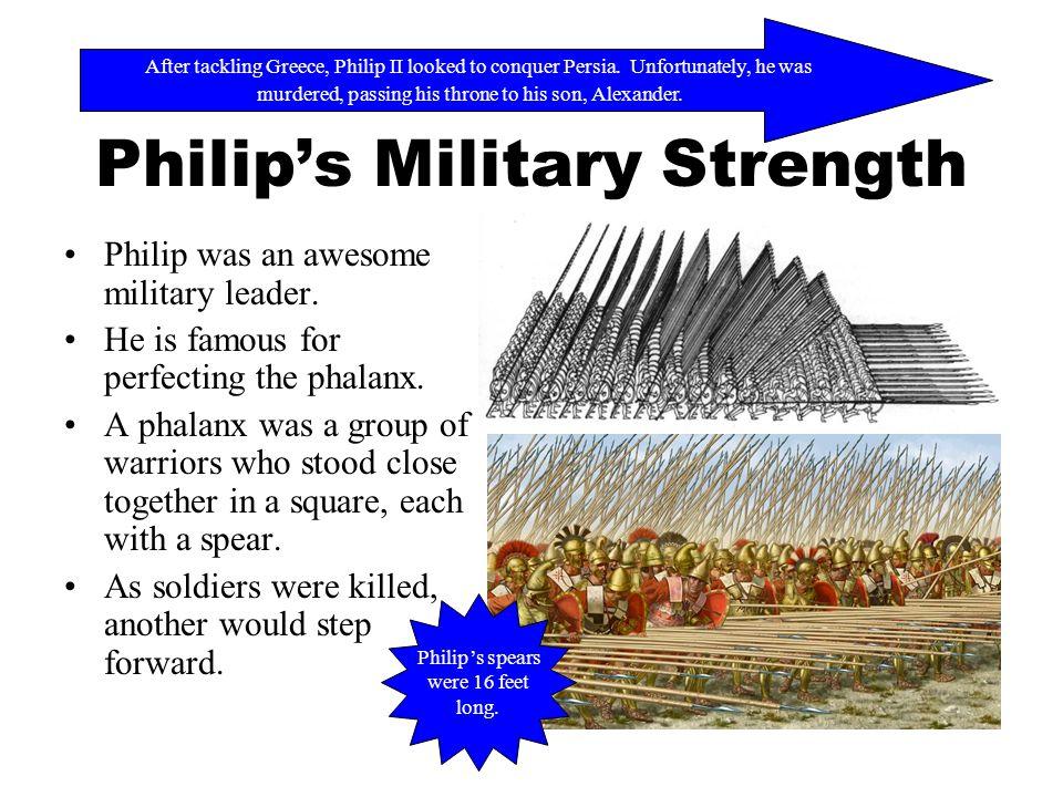 Philip's Military Strength