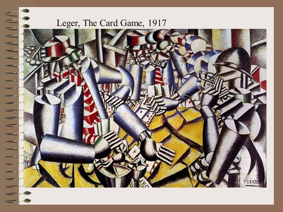 Leger, The Card Game, 1917