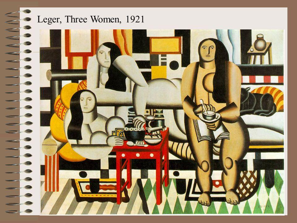 Leger, Three Women, 1921