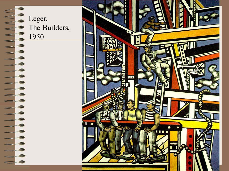 Leger, The Builders, 1950