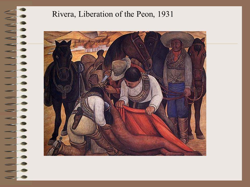 Rivera, Liberation of the Peon, 1931