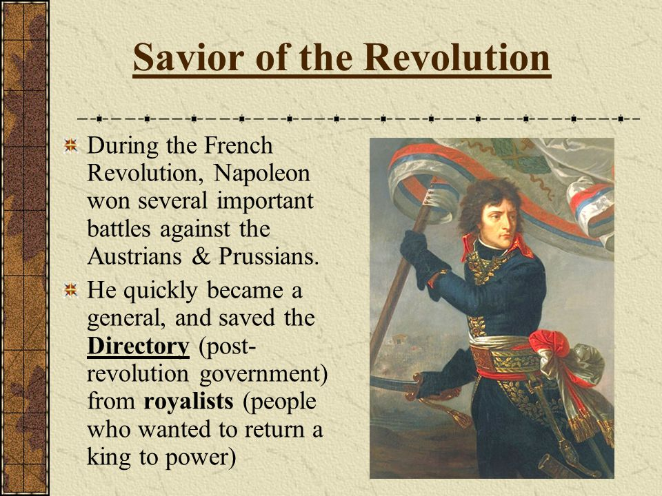 Savior of the Revolution