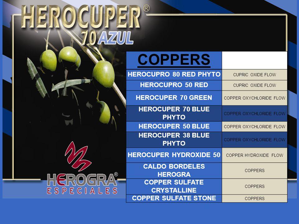 CALDO BORDELES HEROGRA COPPER SULFATE CRYSTALLINE