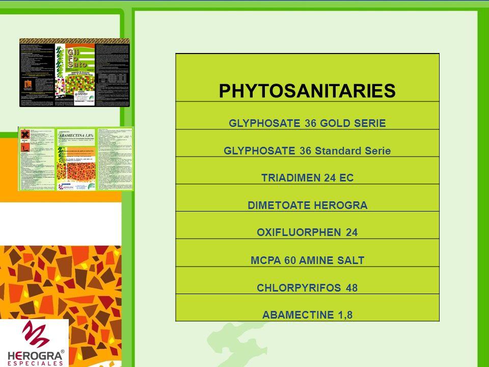 GLYPHOSATE 36 Standard Serie