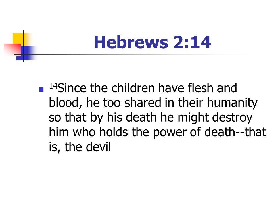 Hebrews 2:14