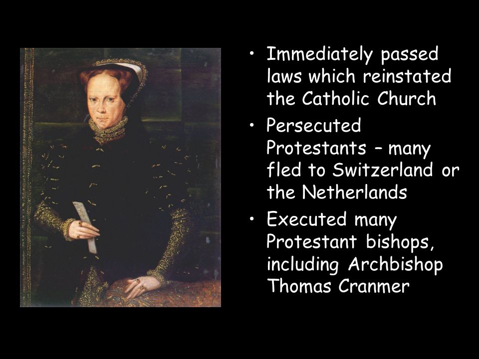 Immediately passed laws which reinstated the Catholic Church