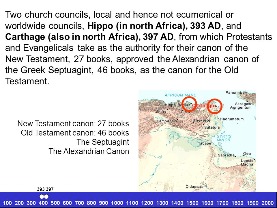Two church councils, local and hence not ecumenical or