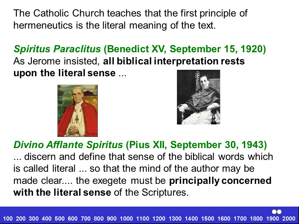 The Catholic Church teaches that the first principle of