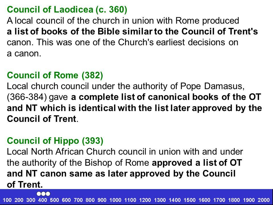 Council of Laodicea (c. 360)