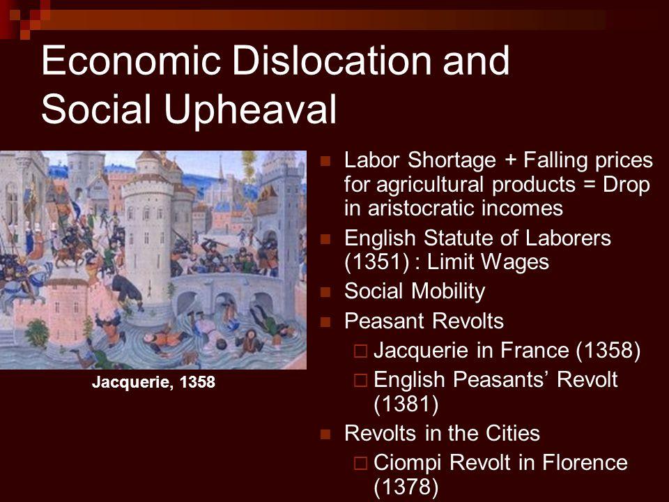 Economic Dislocation and Social Upheaval