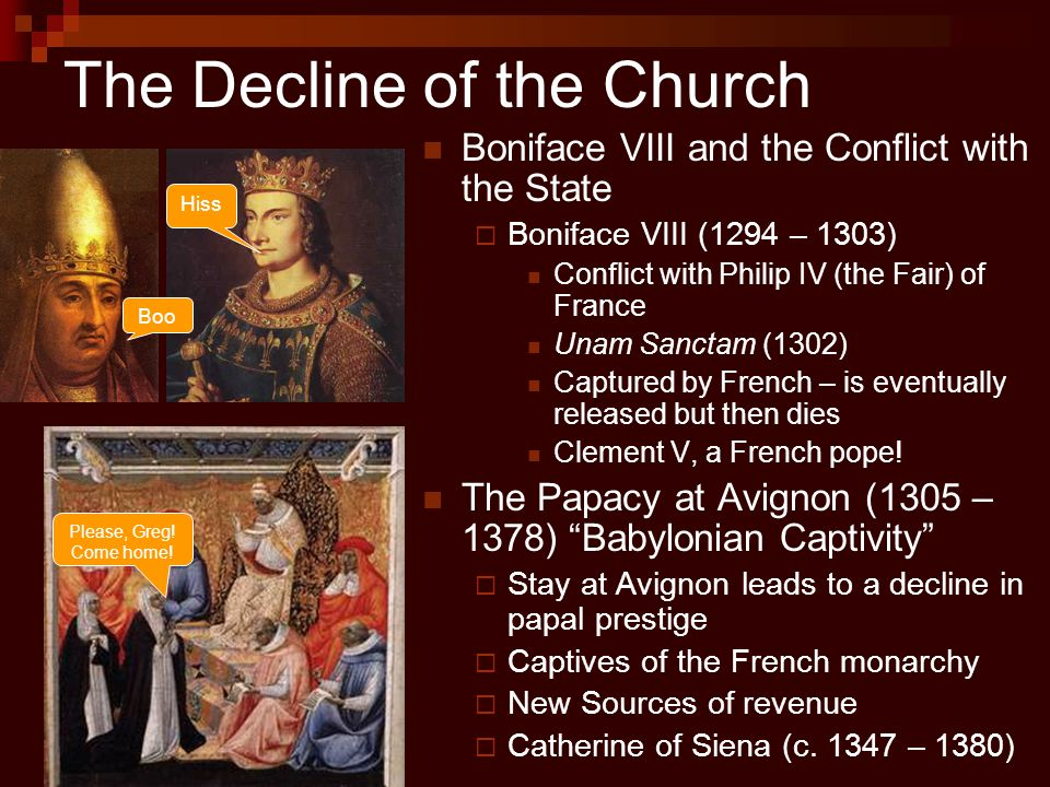 The Decline of the Church