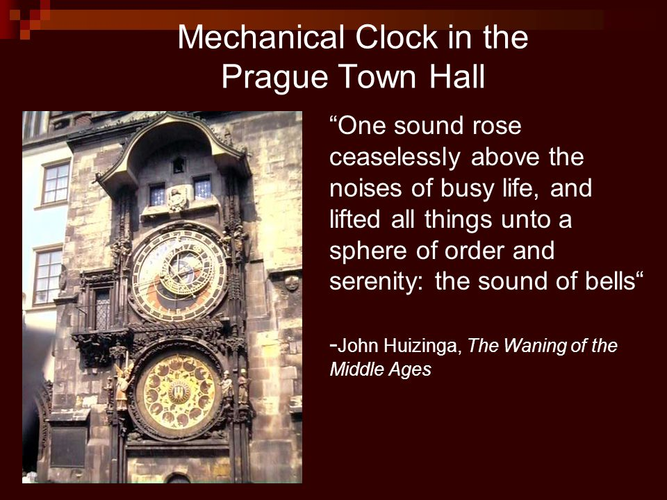 Mechanical Clock in the Prague Town Hall
