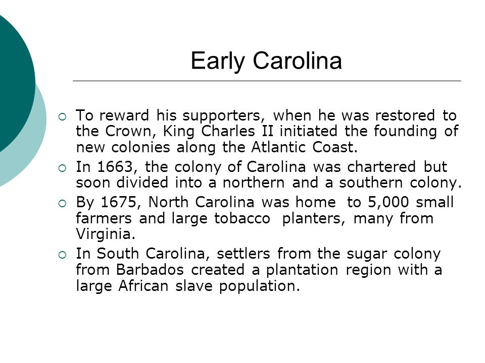 Early Carolina