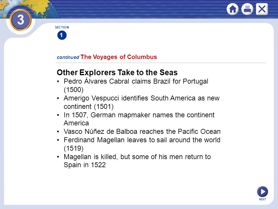 Other Explorers Take to the Seas