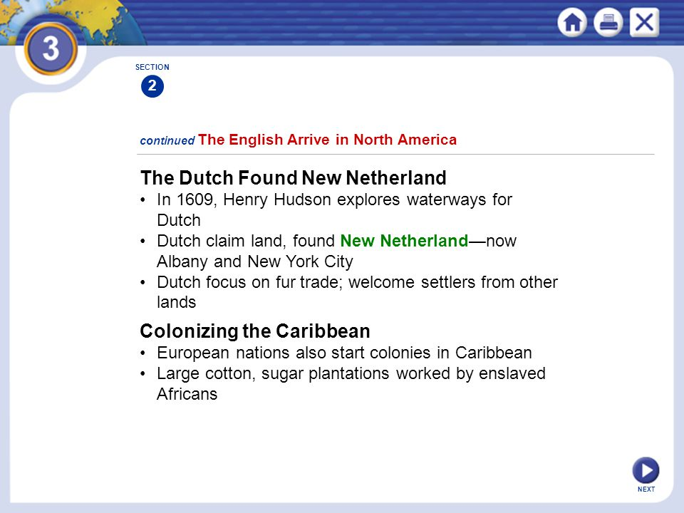 The Dutch Found New Netherland