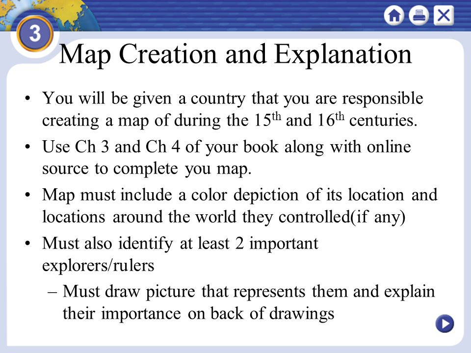 Map Creation and Explanation