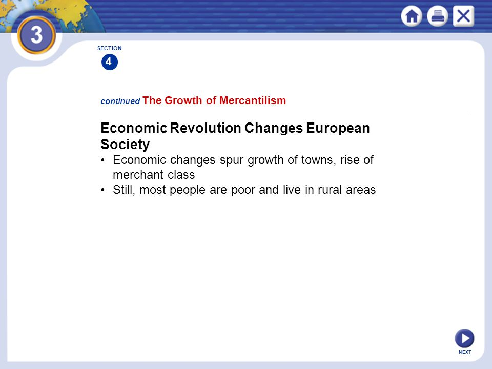 Economic Revolution Changes European Society
