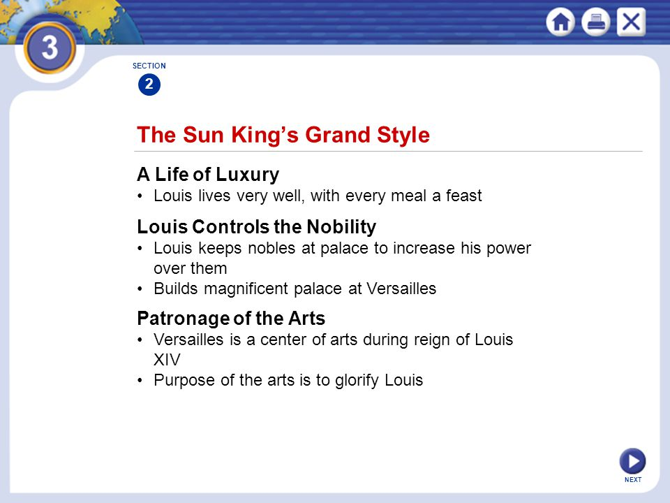 The Sun King's Grand Style