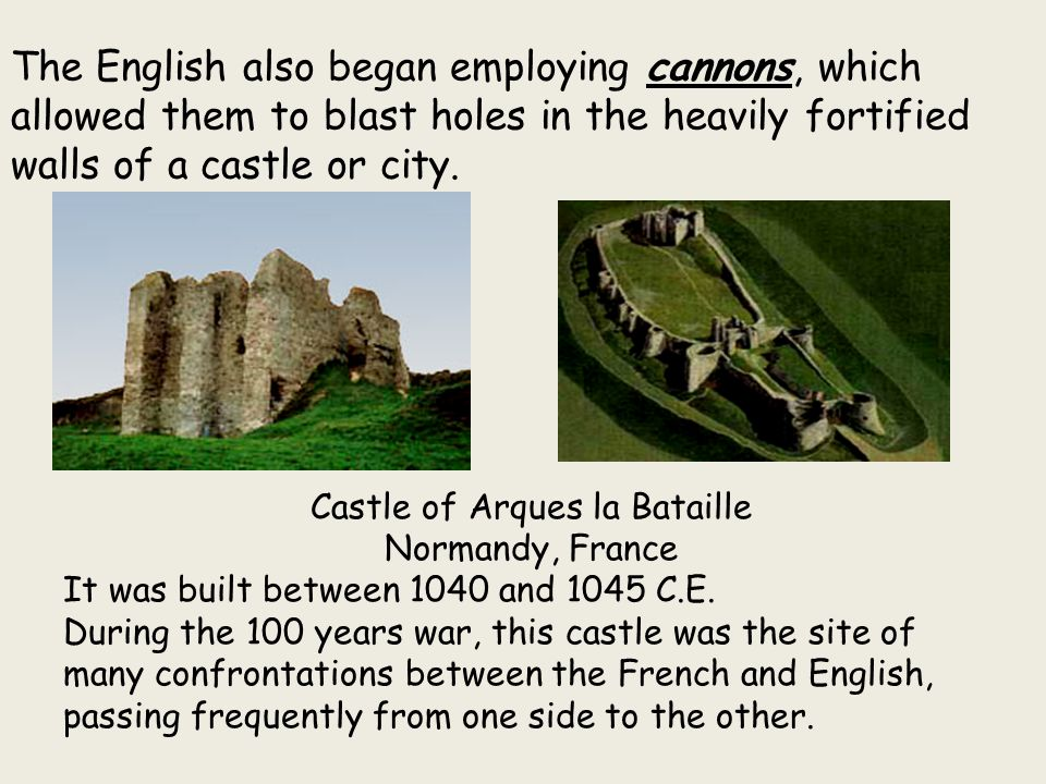 Castle of Arques la Bataille