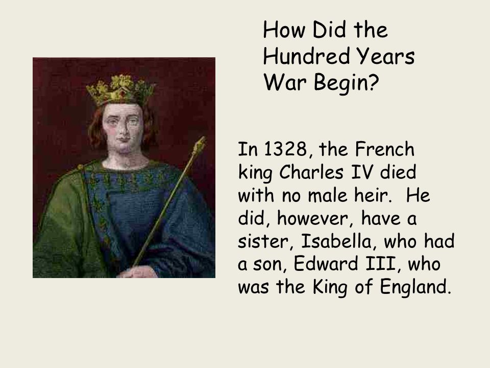 How Did the Hundred Years War Begin