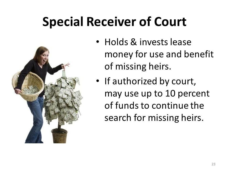 Special Receiver of Court