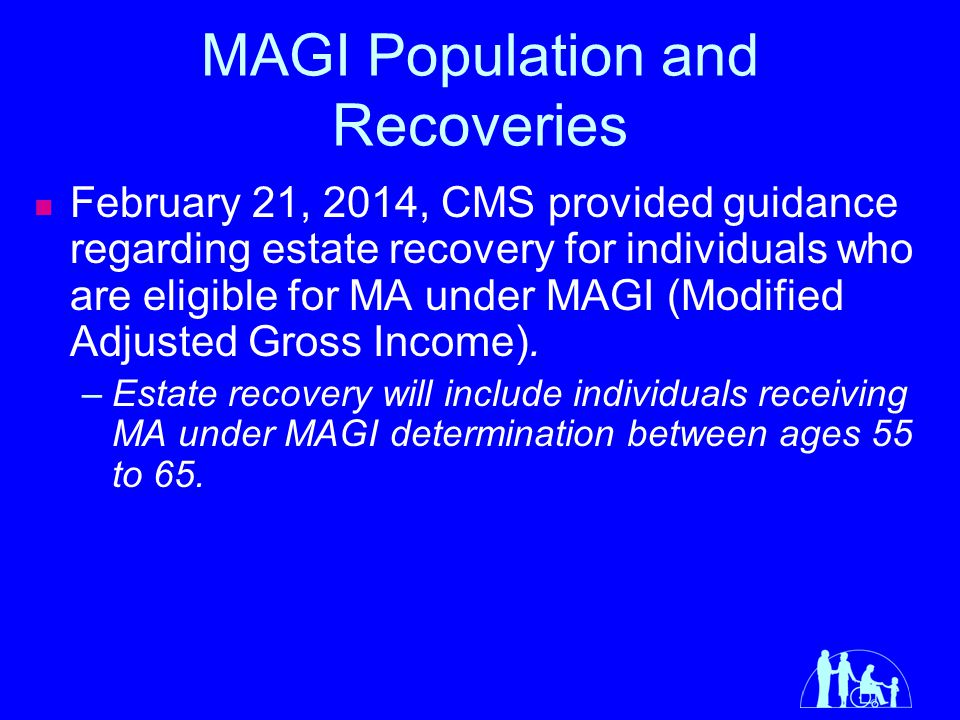 MAGI Population and Recoveries