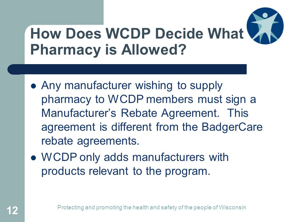 How Does WCDP Decide What Pharmacy is Allowed
