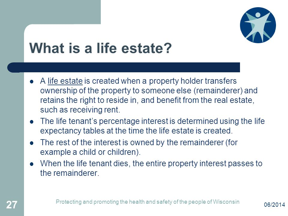 What is a life estate