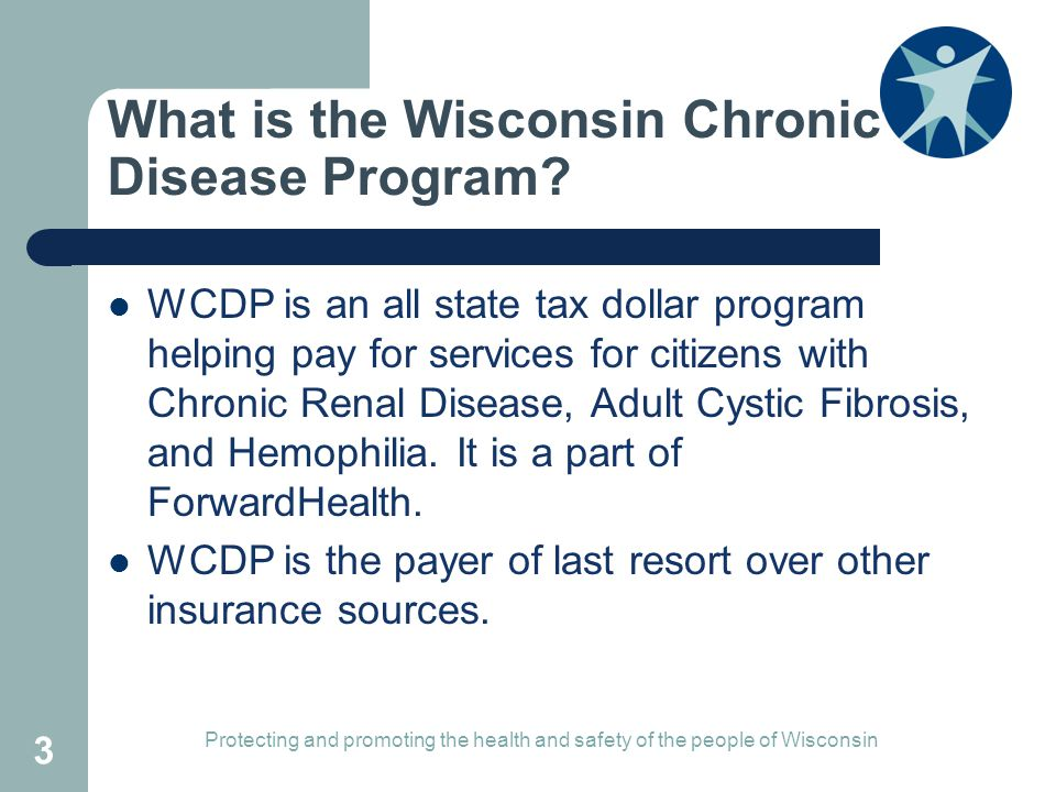What is the Wisconsin Chronic Disease Program