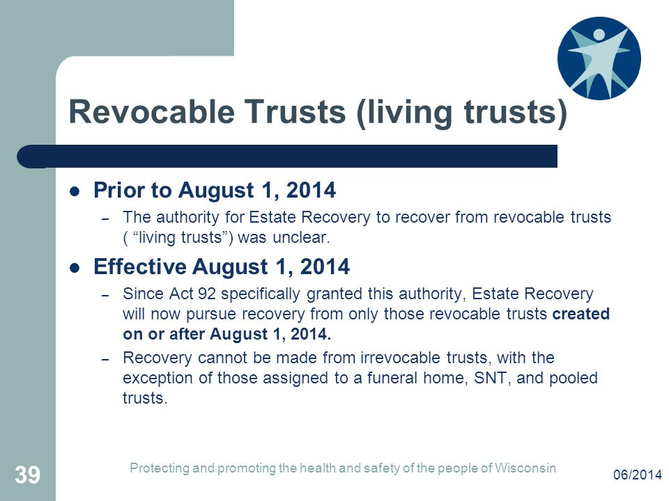 Revocable Trusts (living trusts)