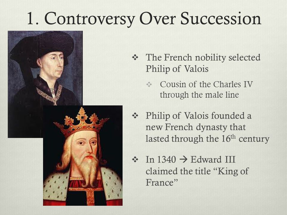 1. Controversy Over Succession