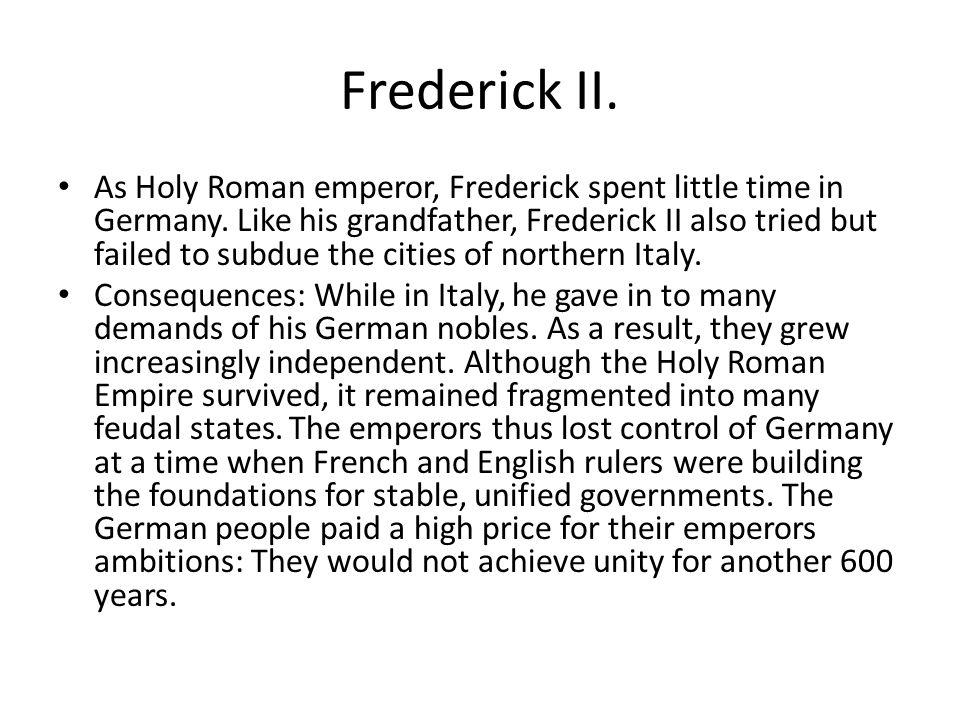 Frederick II.