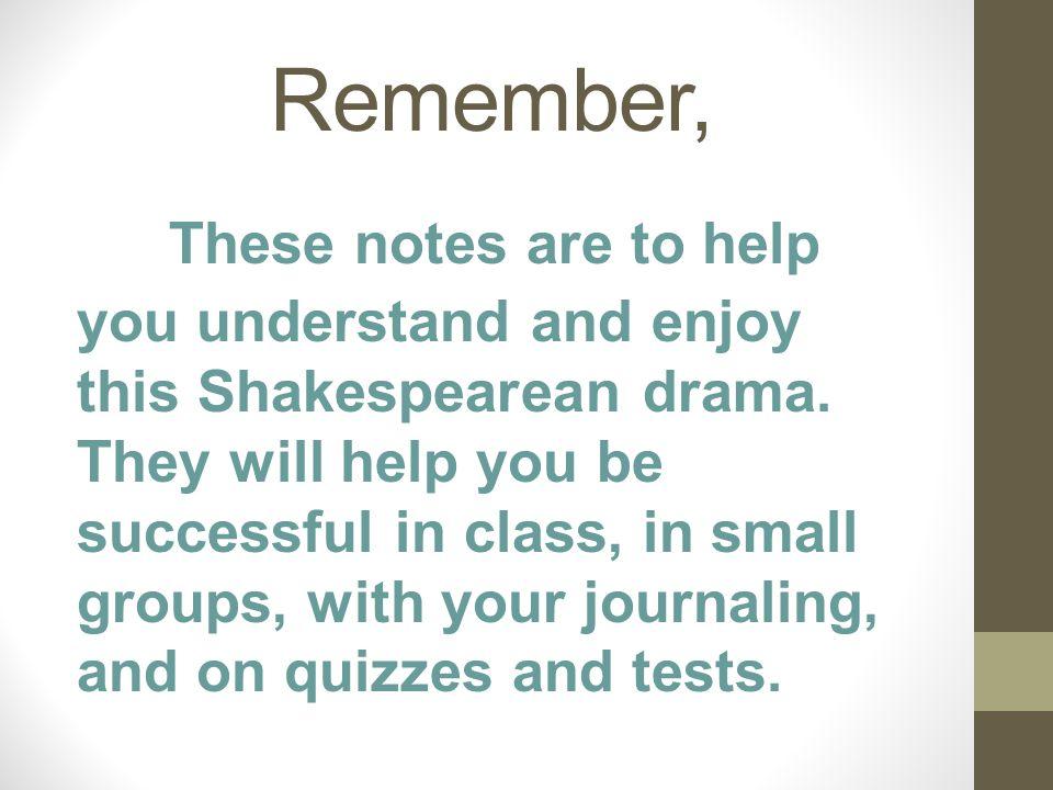 Remember,